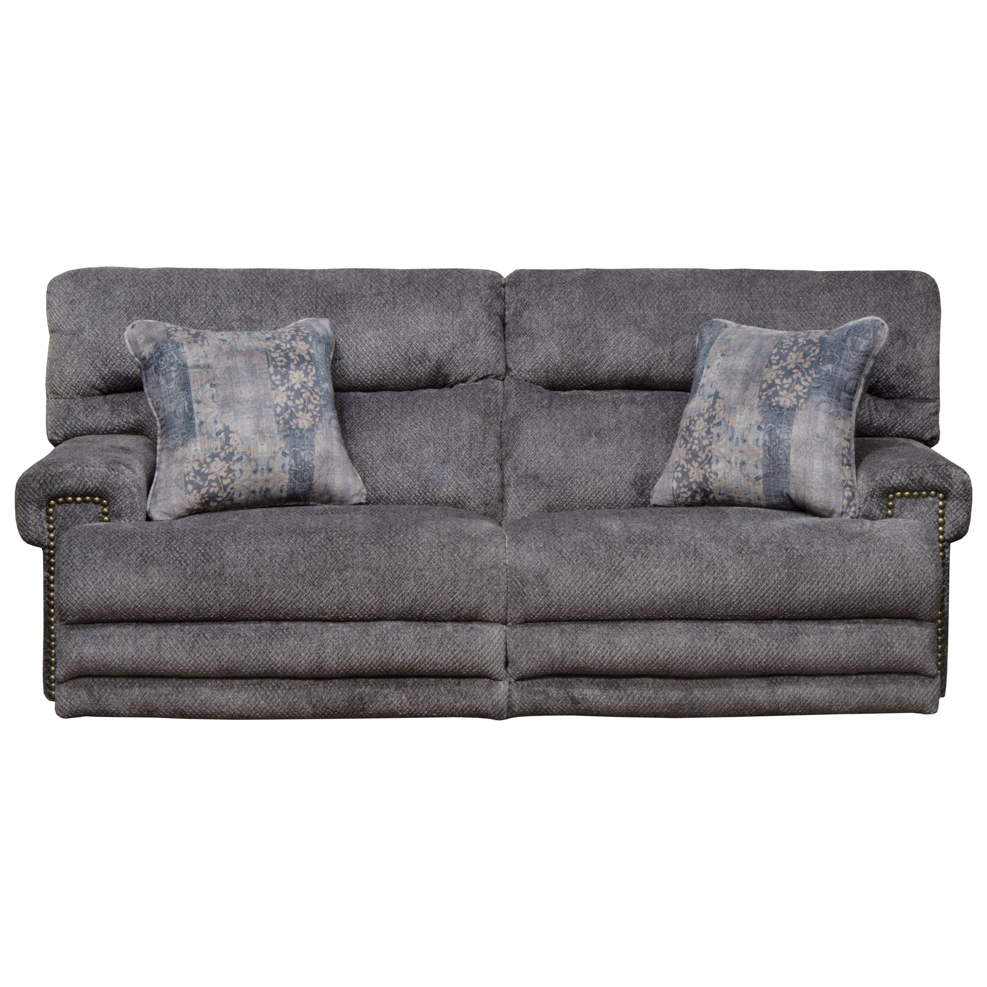 Pwr Headrest w/ Lumbar Pwr LayFlat Sofa