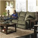 Catnapper Gavin 145 Reclining Sofa with Casual Contemporary Style
