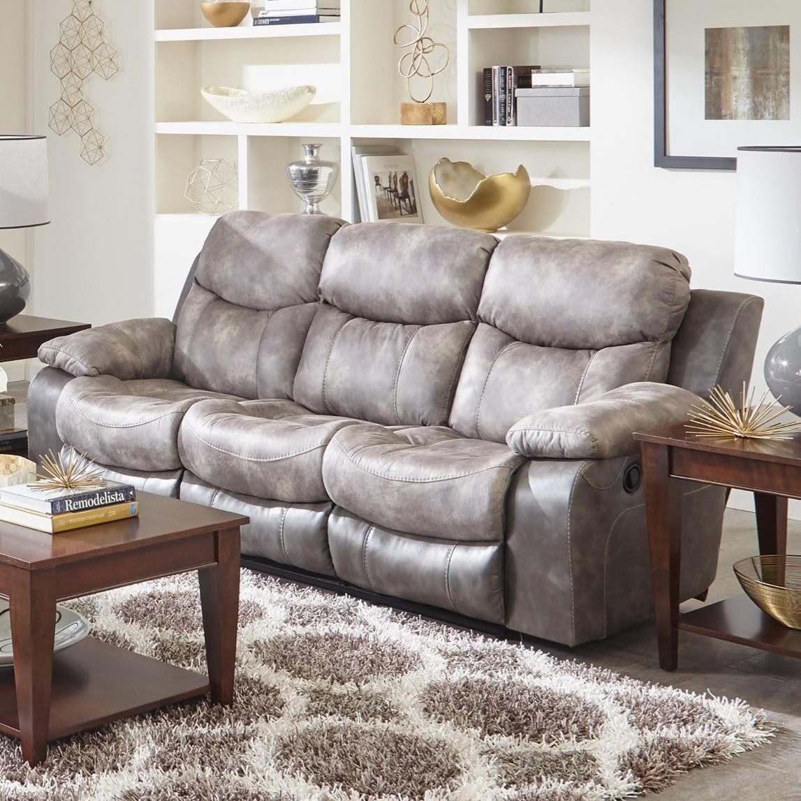 Catnapper henderson reclining sofa with drop down table lindys catnapper henderson reclining sofa with drop down table item number 4355 steel geotapseo Choice Image