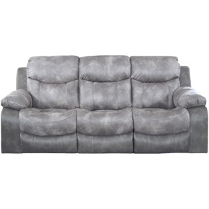 Power Reclining Sofa with Drop Down Table