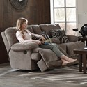 Catnapper Jules Power Reclining Console Loveseat - Item Number: 62209-1724-18-2860-18