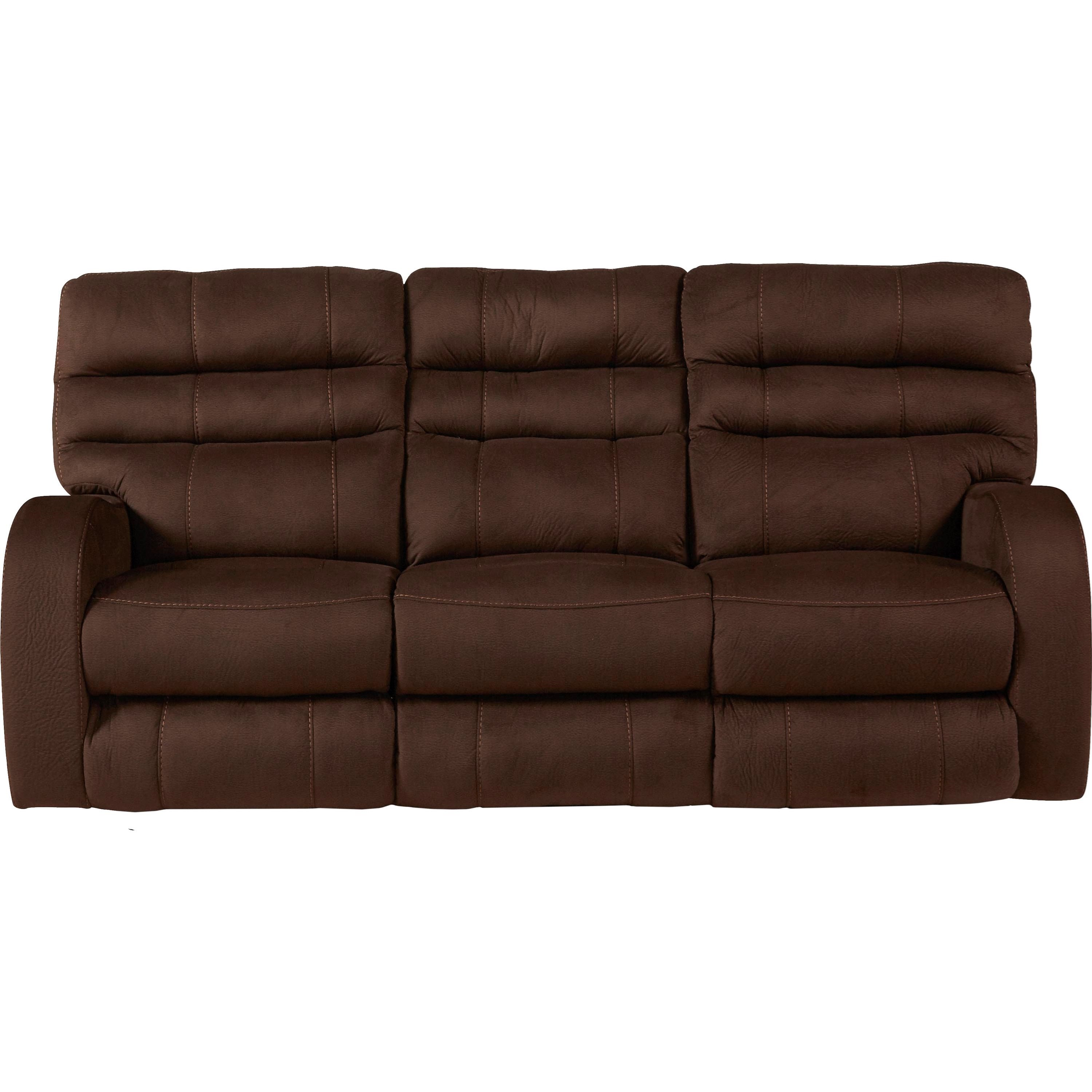 Catnapper Kelsey Contemporary Power Lay Flat Reclining Sofa with ...