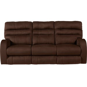 Catnapper Kelsey Power Lay Flat Reclining Sofa