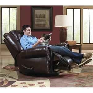 Catnapper Livingston Swivel Glider Recliner