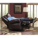 Catnapper Livingston Power Glider Recliner with Nailhead Trim - Recliner Shown May Not Represent Exact Features Indicated