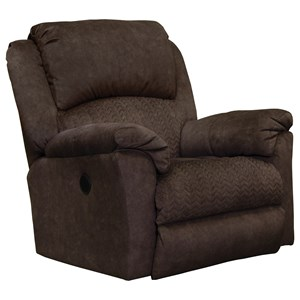 Casual Power Rocker Recliner with USB Port