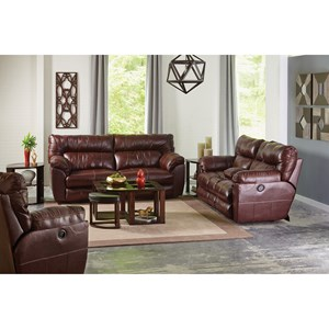 Milan Reclining Living Room Group by Catnapper