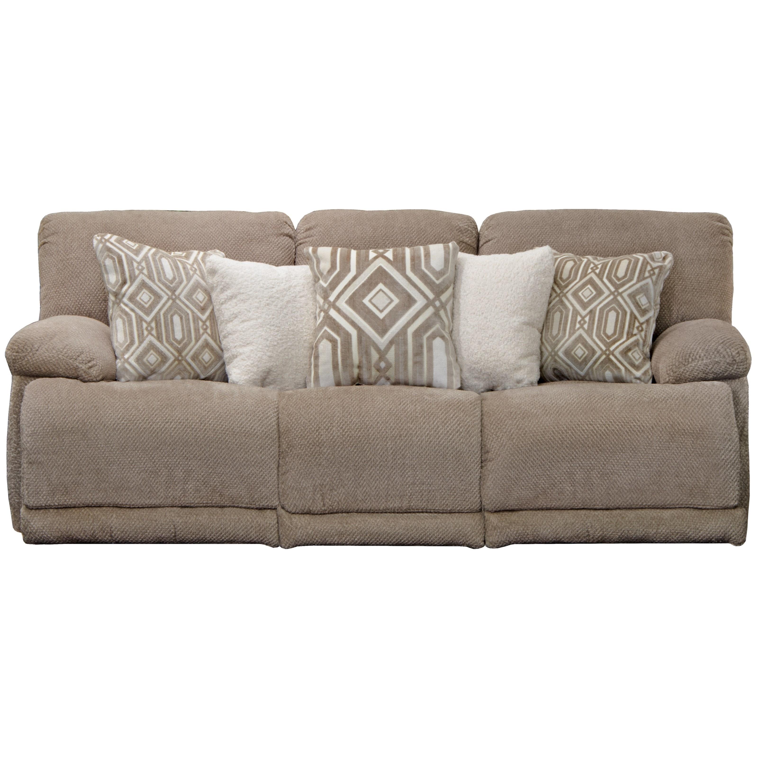 Catnapper Montego Lay Flat Reclining Sofa | Lindy\'s Furniture ...