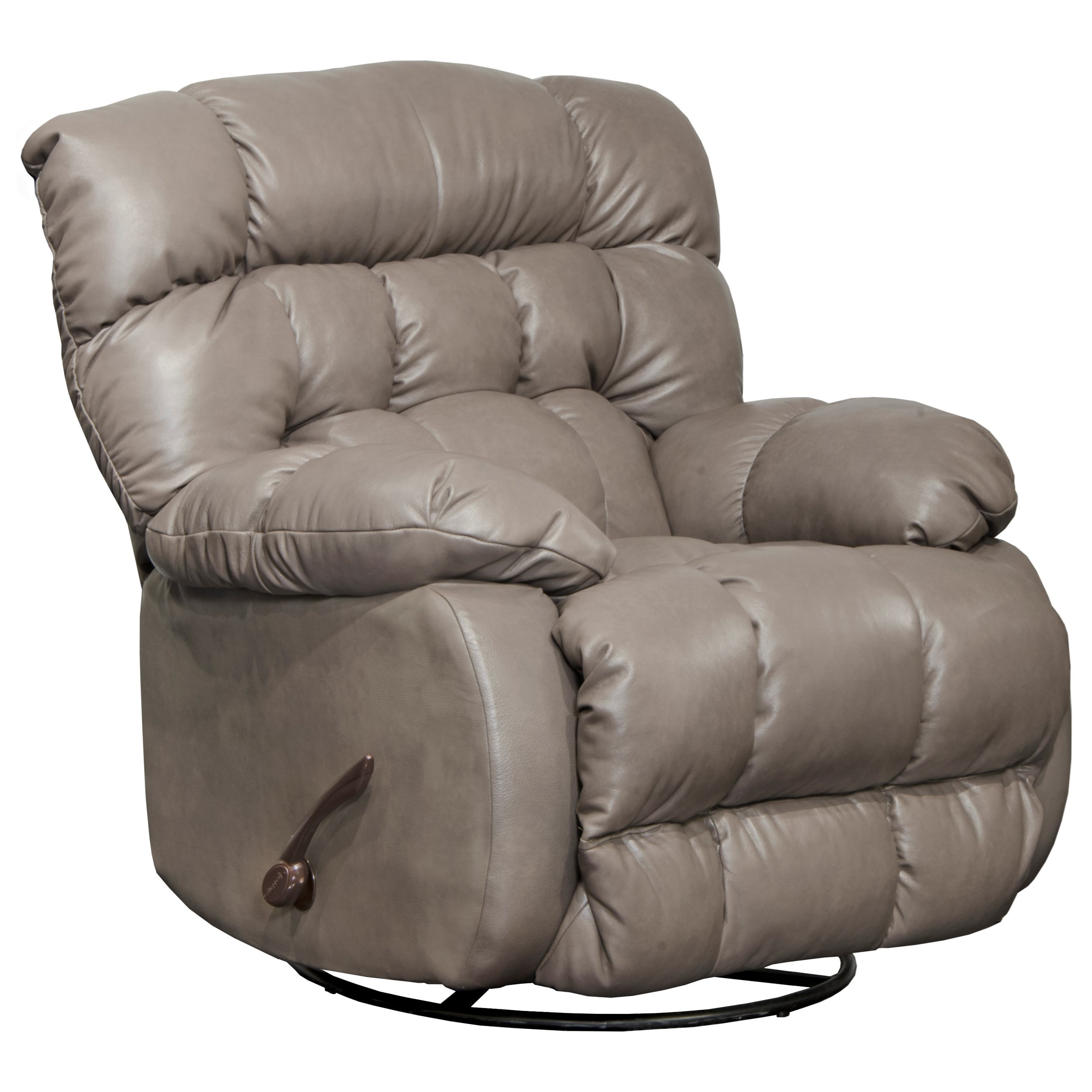 Catnapper Motion Chairs And Recliners Pendleton Chaise Swivel Glider  Recliner   Item Number: 4213