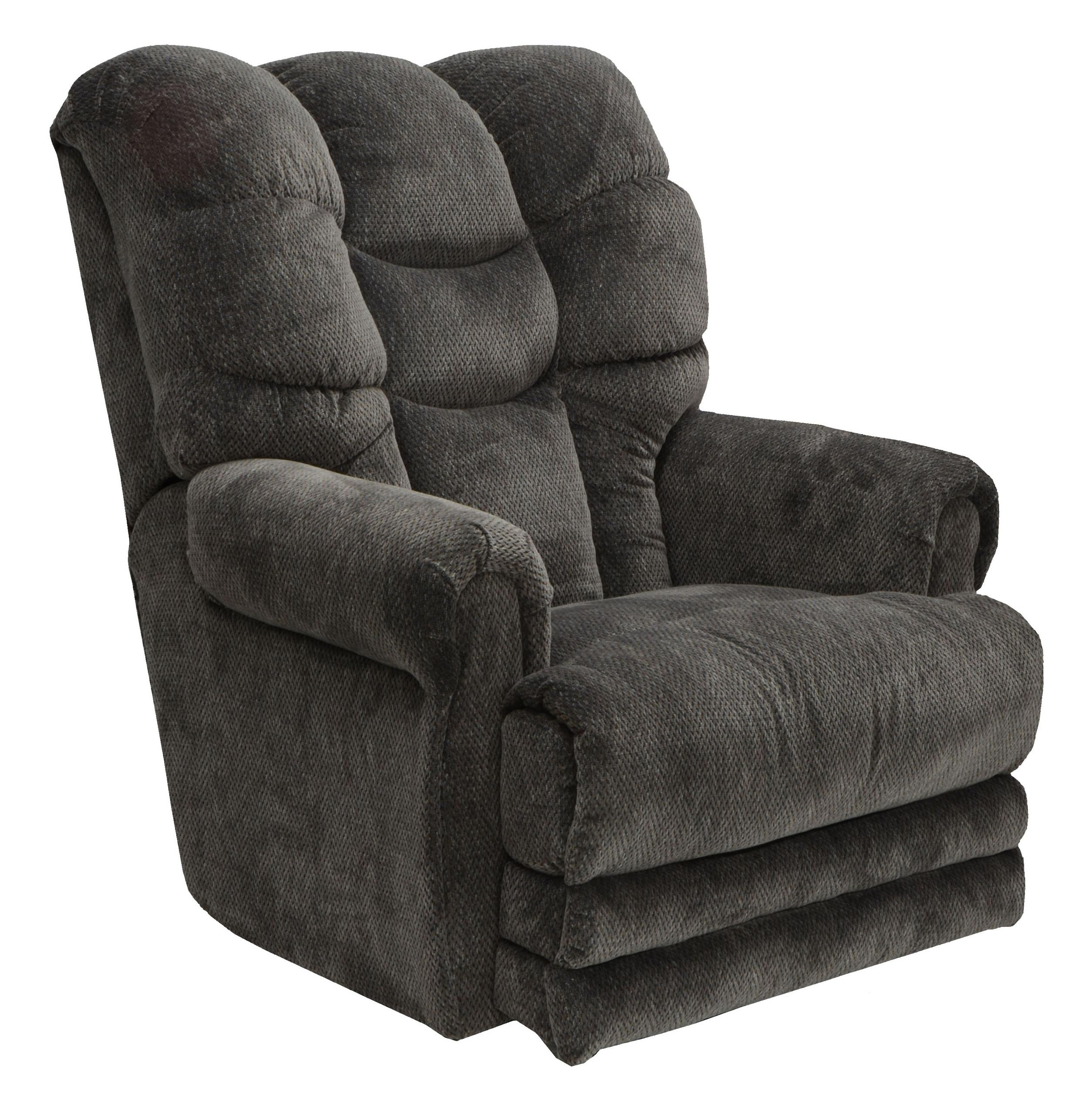 Catnapper Motion Chairs and Recliners Malone Lay Flat Recliner - Item Number: 4257-slate