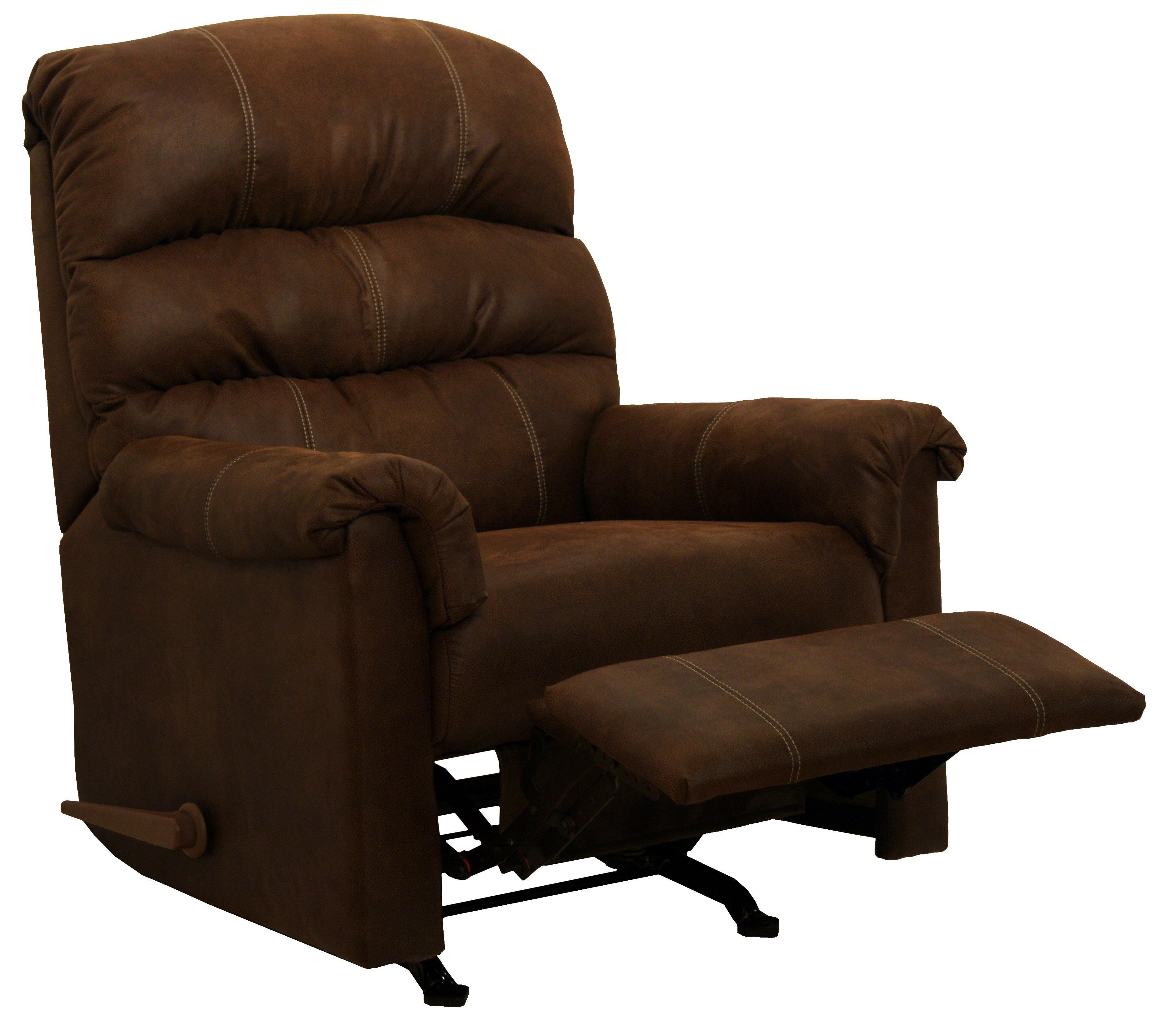 Catnapper Motion Chairs And Recliners Capri Rocker Recliner In Chocolate    Item Number: 4273