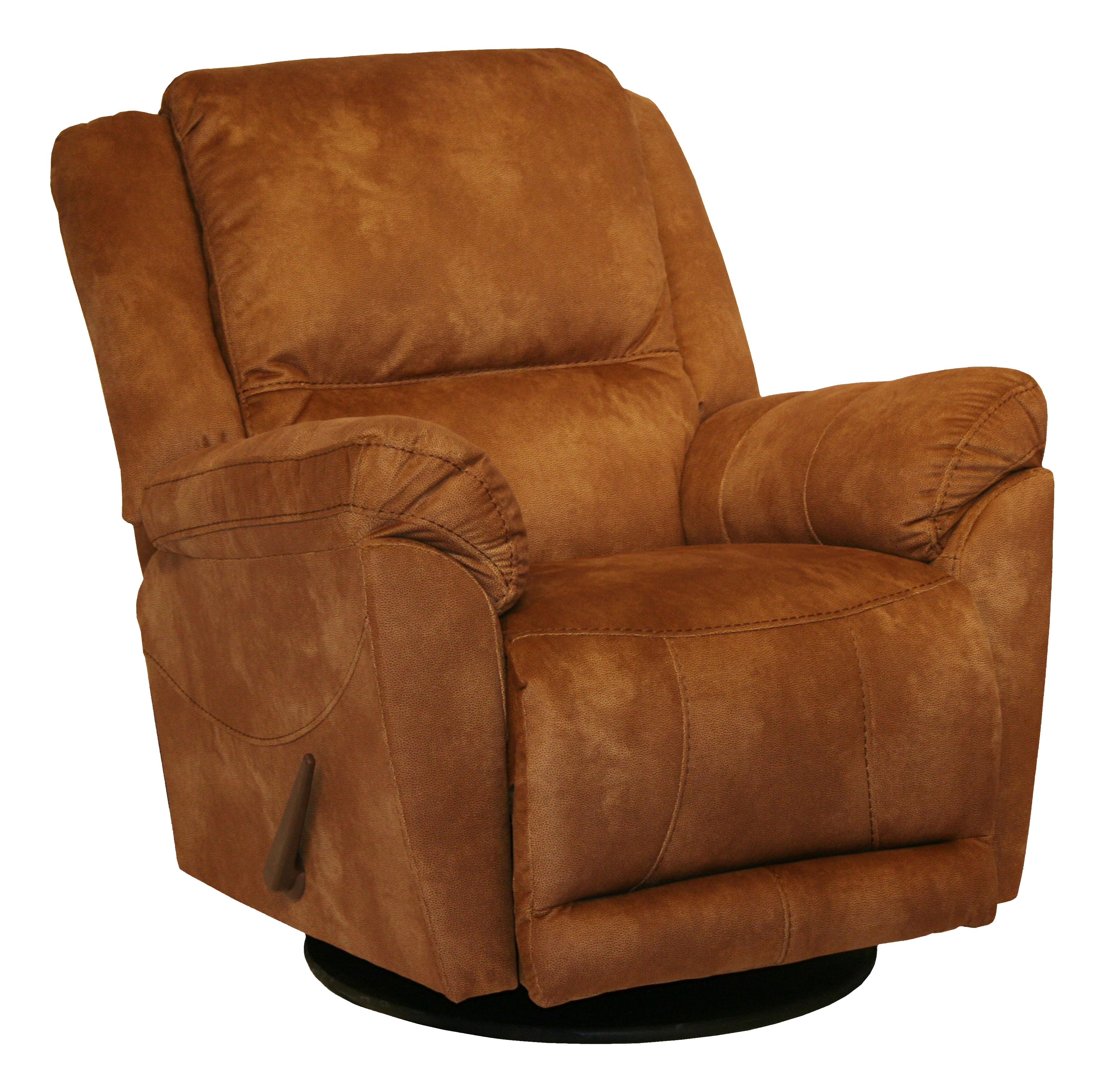Motion Chairs And Recliners Maverick Swivel Glider