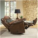 Catnapper Motion Chairs and Recliners Griffey Rocker Recliner with Casual Style - Item Shown May Not Represent Exact Features Indicated