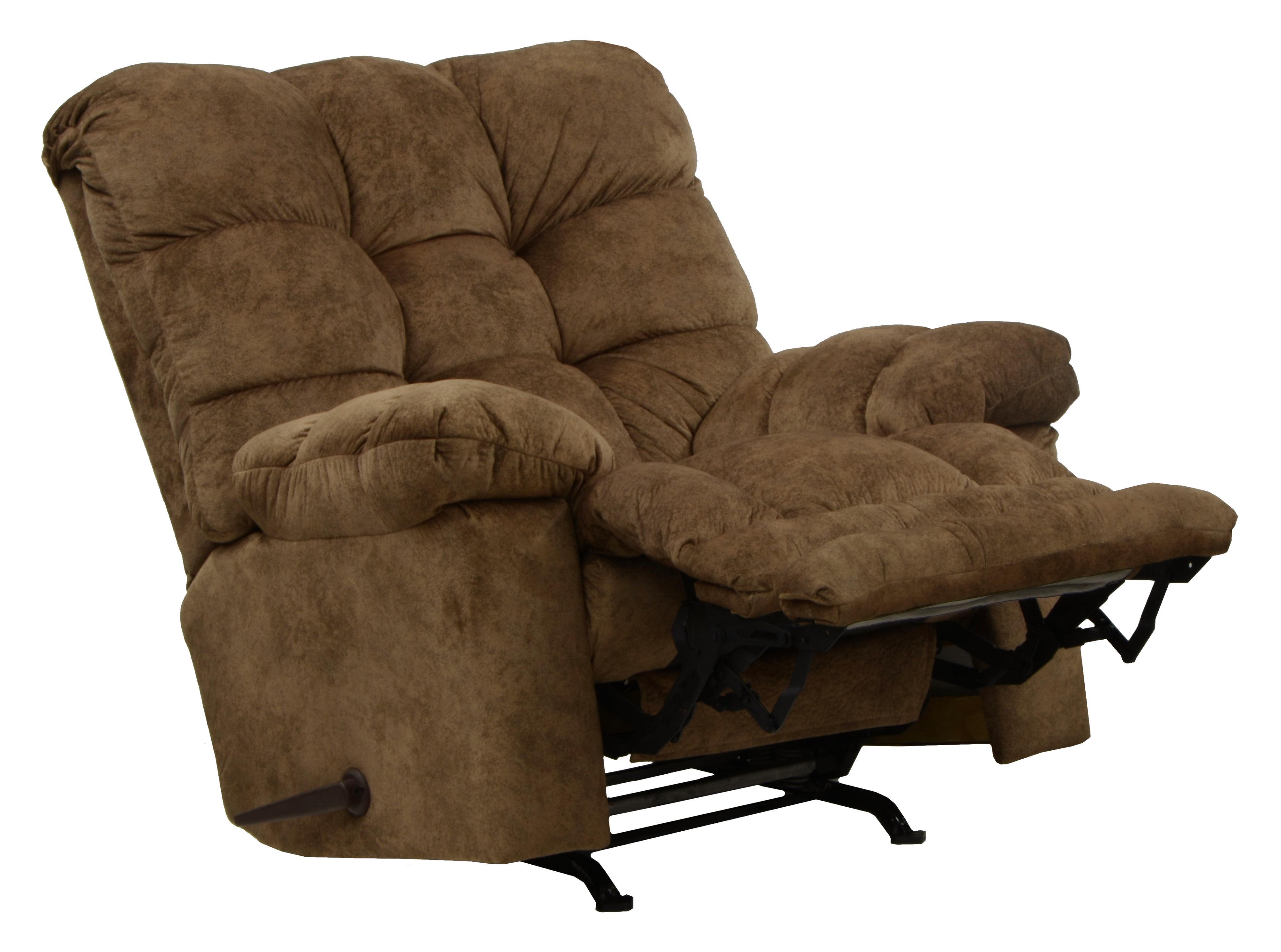 Bronson Rocker Recliner with Extra Comfort