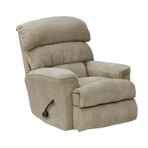 Catnapper Motion Chairs and Recliners Pearson Linen Rocker Recliner with Manual