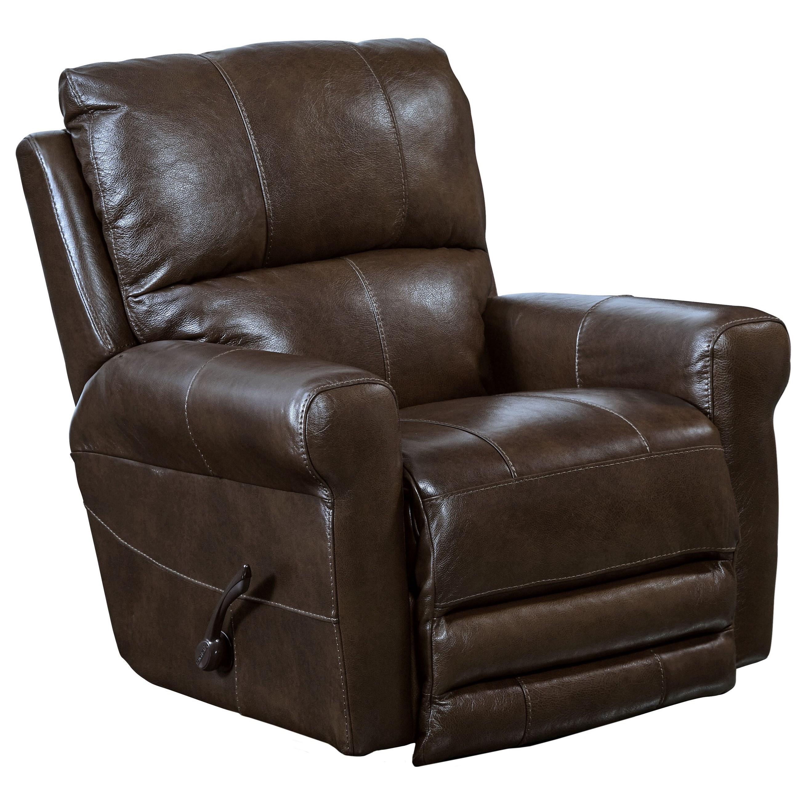 furniture ashley leather match recliners by dark power signature wide brown damacio number item zero design wall recliner products
