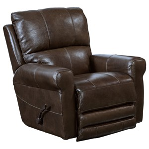 Catnapper Motion Chairs and Recliners Hoffner Power Lay Flat Recliner