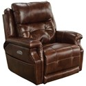 Catnapper Motion Chairs and Recliners Pwr Headrest Lay Flat Recliner w/ Lumbar - Item Number: 764561-7-1166-29