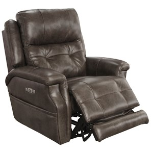 Catnapper Motion Chairs and Recliners Kepley Power Headrest Lay Flat Recliner