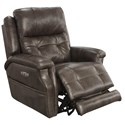 Catnapper Motion Chairs and Recliners Kepley Power Headrest Lay Flat Recliner - Item Number: 64561-7-1166-39