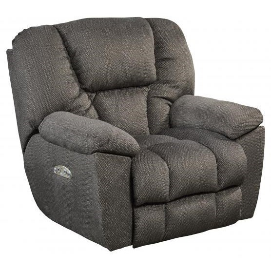 Catnapper Motion Chairs and Recliners Pwr Headrest Lay Flat Recliner w/ Lumbar - Item Number: 764761-7-2779-28