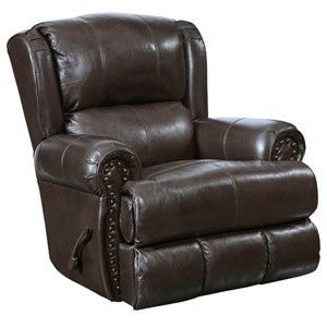Catnapper Motion Chairs and Recliners Duncan Deluxe Lay Flat Power Recliner
