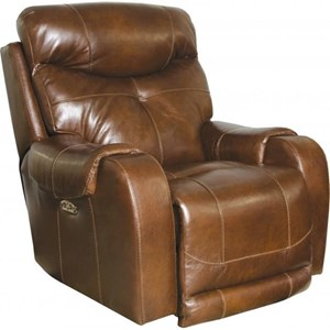 Catnapper Motion Chairs and Recliners Venice Power Headrest Lay Flat Recliner