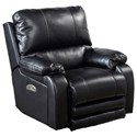 Catnapper Motion Chairs and Recliners Thornton Pwr Lay Flat Recliner w/ Pwr Head - Item Number: 647627-1152-08-1252-08