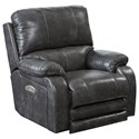 Catnapper Motion Chairs and Recliners Thornton Pwr Lay Flat Recliner w/ Pwr Head - Item Number: 7647627-1152-78-1252-78