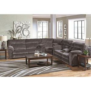 Catnapper Nichols Layflat Reclining Sectional