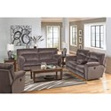 Catnapper Nichols Power Reclining Living Room Group - Item Number: 6167-1+9+07-2370-28
