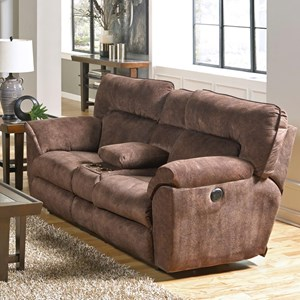 Catnapper Nichols Layflat Console Power Loveseat