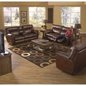 Catnapper Nolan Power Reclining Living Room Group - Item Number: 404-1223-09-Living-Room-2