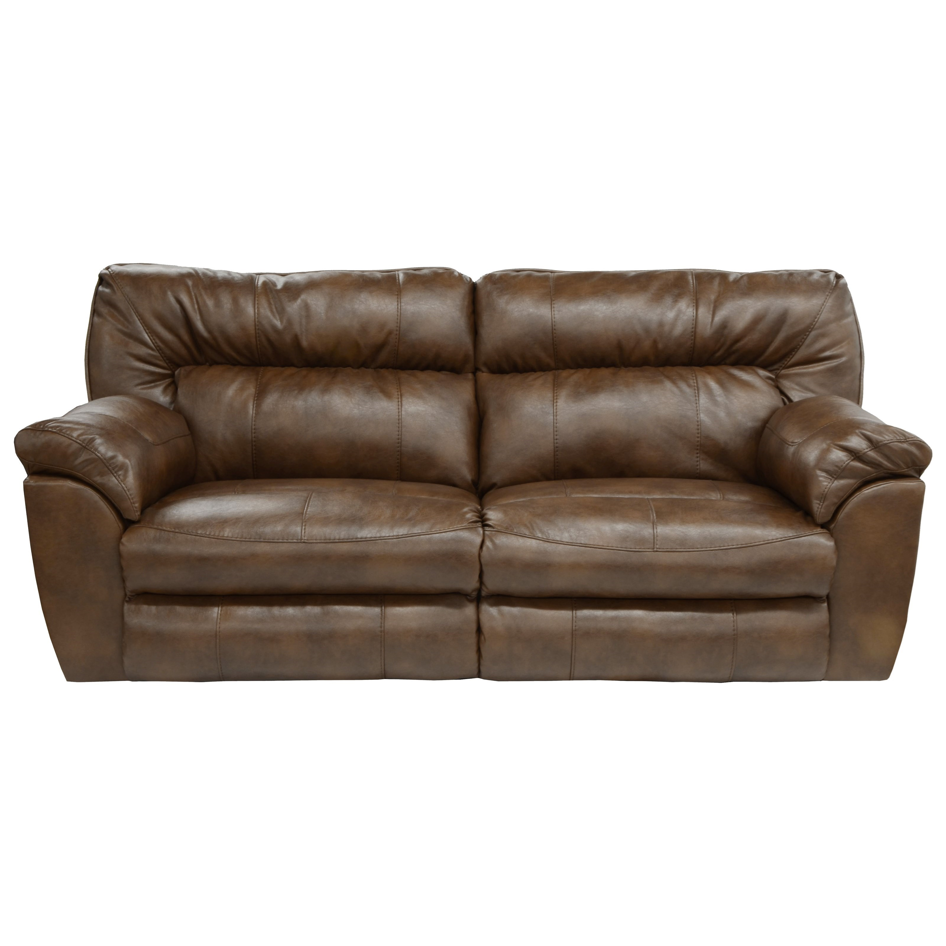 Catnapper Nolan 4041 Extra Wide Reclining Sofa Household Furniture Reclining Sofas