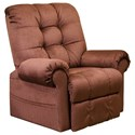 Catnapper 4827 Pow'r Lift Full Layout Chaise Recliner - Item Number: 4827-2008-34
