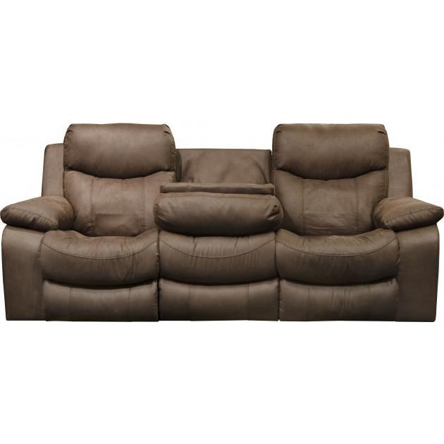 Palmer Power Headrest w/Lumbar Power Lay Flat Sofa by Catnapper at Standard Furniture