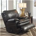 Catnapper Perez Rocker Recliner with Pillow Topped Cushions - Recliner Shown May Not Represent Exact Features Indicated