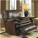 Catnapper Perez Rocker Recliner with Pillow Topped Cushions - 4140-2 - Recliner Shown May Not Represent Exact Features Indicated