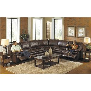 Catnapper Perez Power Reclining Sectional Sofa
