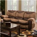 Catnapper Portman  Three Seat Reclining Sofa with Casual Country Charm