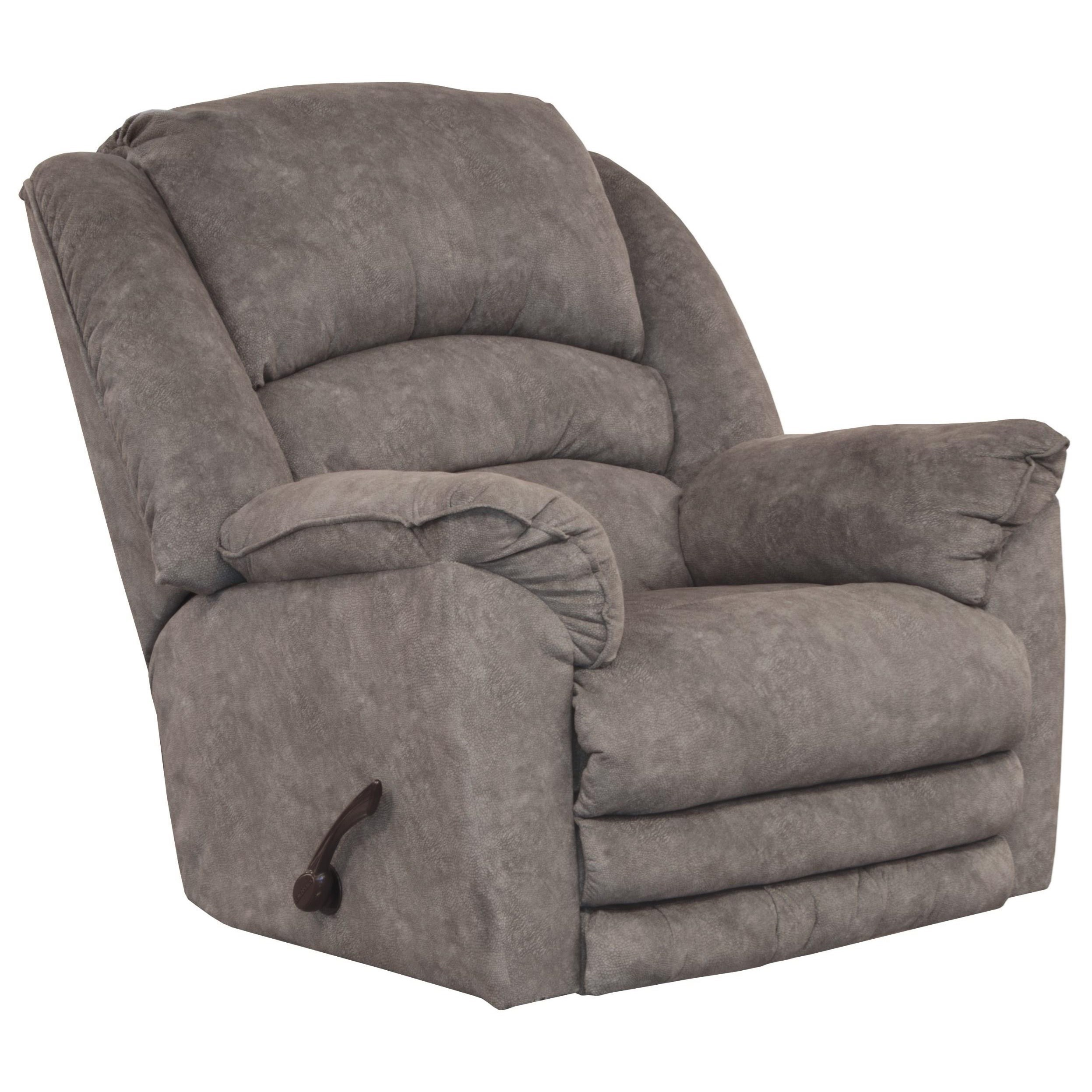Chaise Rocker Recliner w/ Extended Footrest