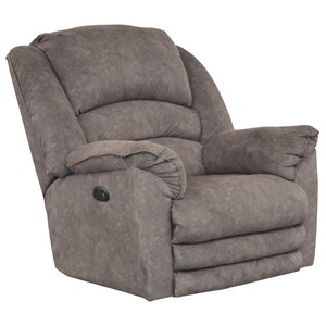 Power Lay Flat Recliner w/ Extended Footrest