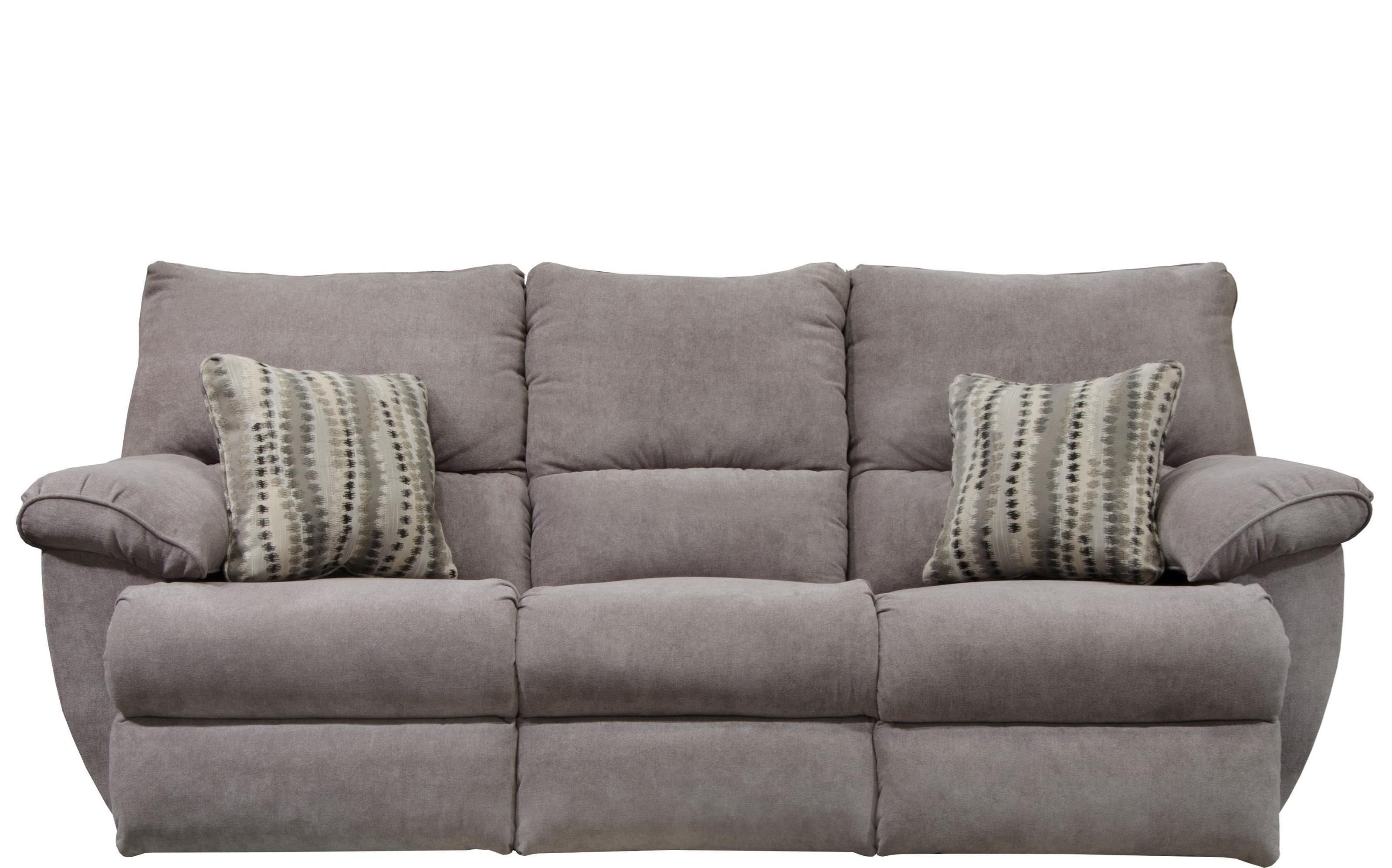 Catnapper Sadler Lay Flat Reclining Sofa With Drop Down Table Lindy S Furniture Company Reclining Sofas