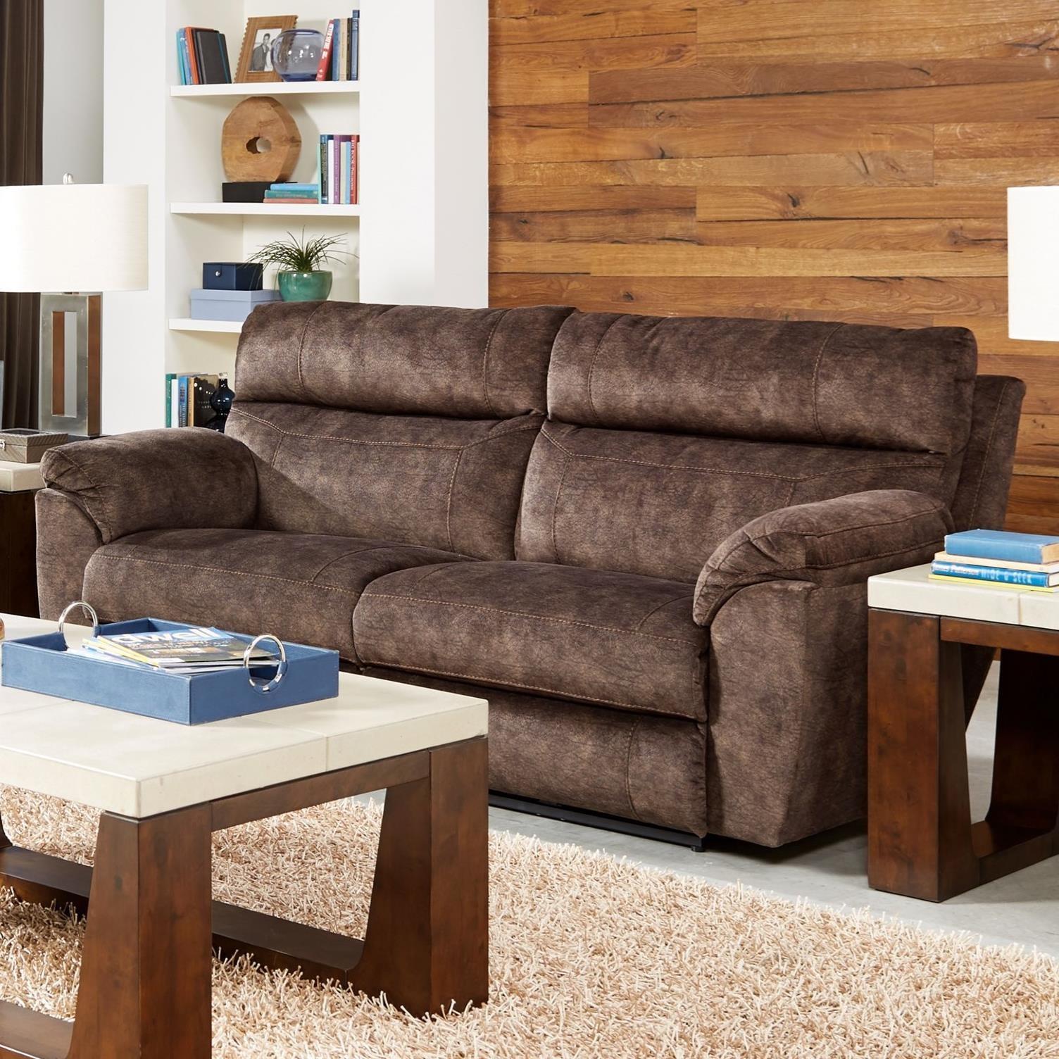 Catnapper Sedona Power Lay Flat Reclining Sofa With Power