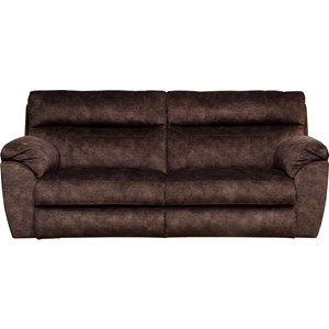 Catnapper Sedona Power Headrest Lay Flat Reclining Sofa