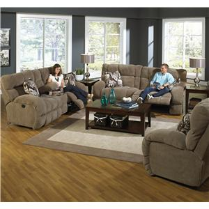 Catnapper Siesta  Reclining Living Room Group