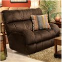 Catnapper Siesta  Lay Flat Recliner - Item Number: 1760-7 Chocolate