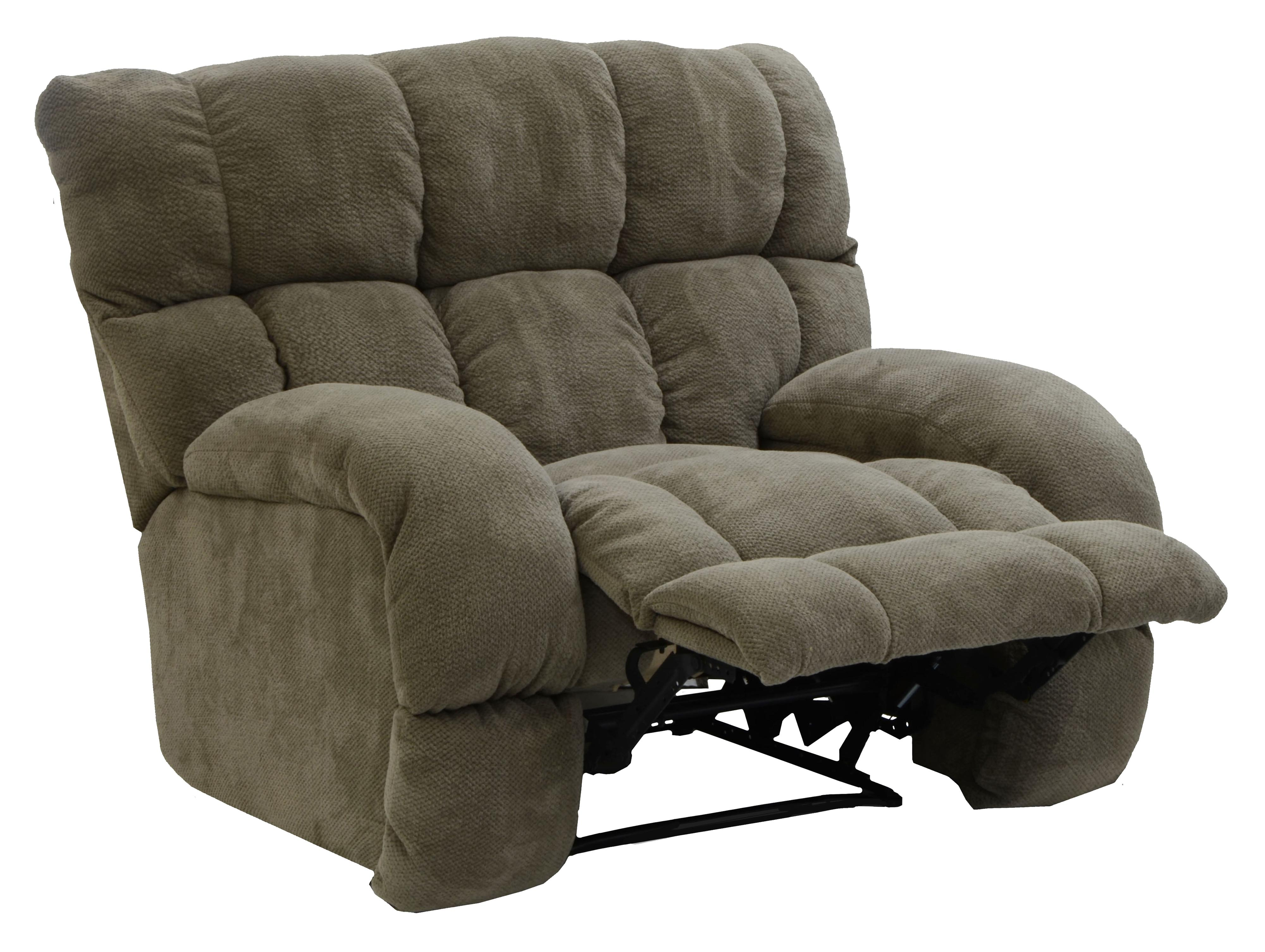 Siesta Lay Flat Recliner with Extra Wide Seat by Catnapper ...