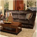 Catnapper Siesta  Lay Flat Reclining Sofa with Wide Seats - 1761 Chocolate - Sofa Shown May Not Represent Exact Features Indicated