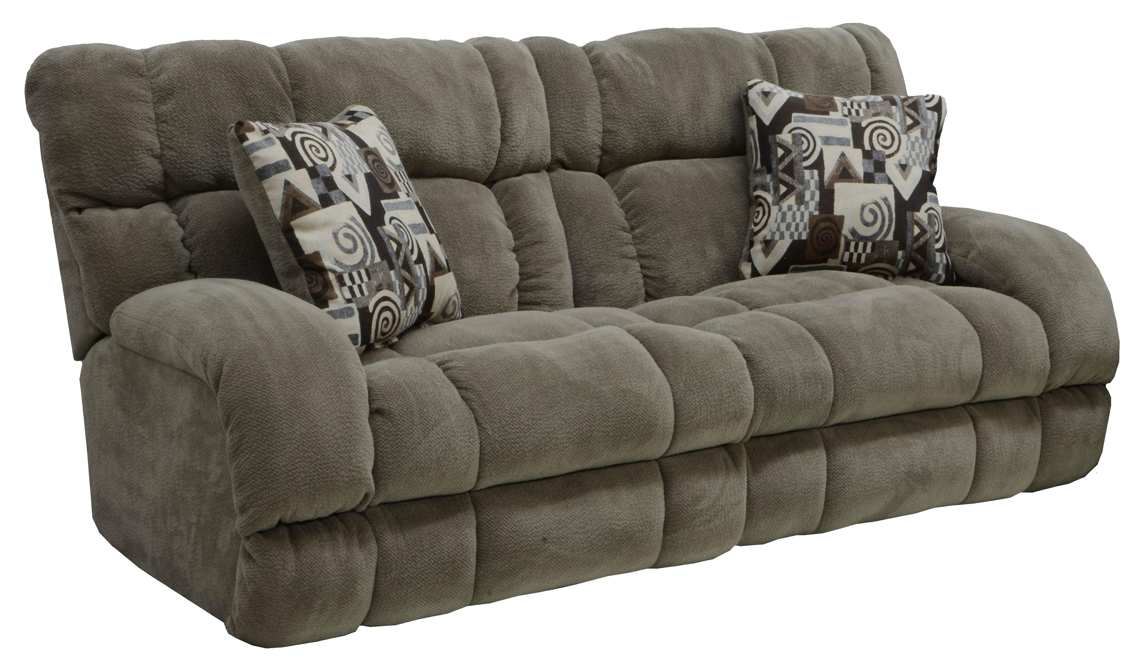 Catnapper BRYCE Lay Flat Reclining Sofa with Wide Seats EFO